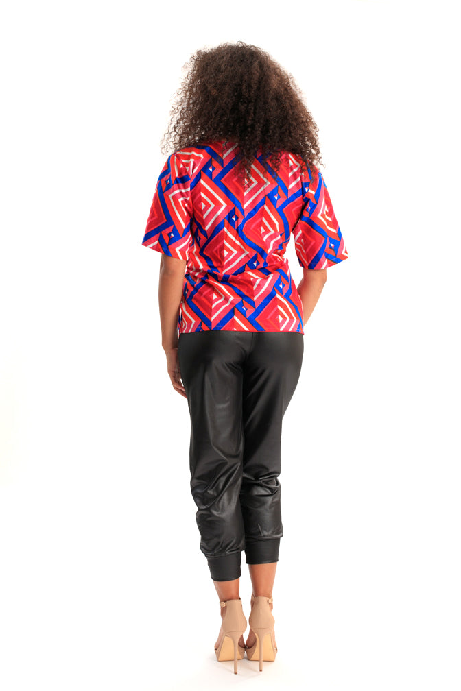 My Style Endures (Wrap Top) African Print Dress
