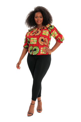 Power Moves African Print Blazer