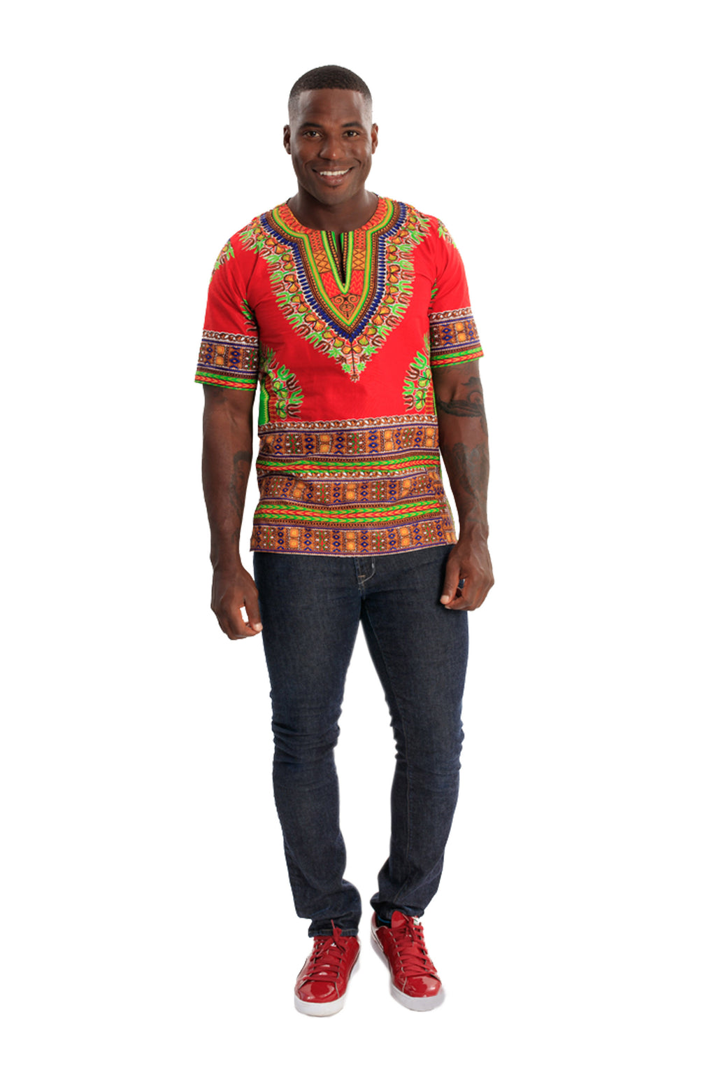 African Men's Dashiki Shirt CULTURE CALL