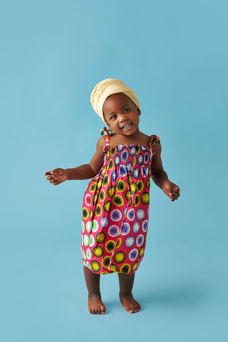 african girl dress african print kids fashion wax and wonder