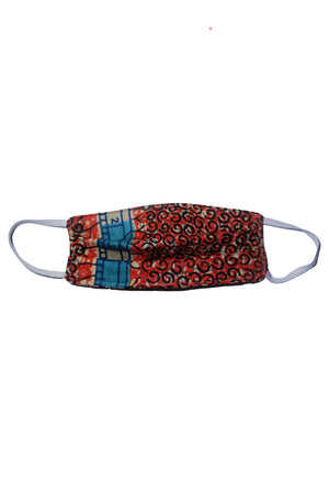 "Kids ""Baraka"" Reusable African Print Face Mask"