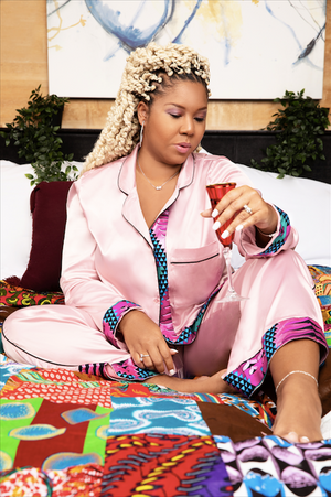 Black owned business 2020 african inspired pajama set