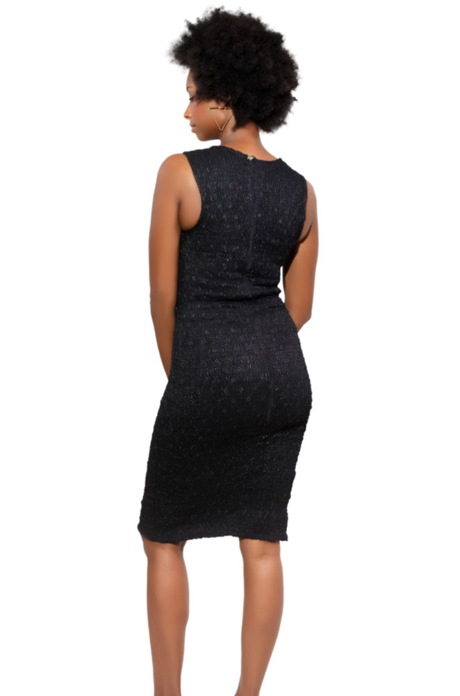 Snatched Life African Print Bodycon Dress