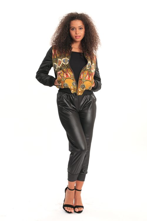 African Bomber Jacket