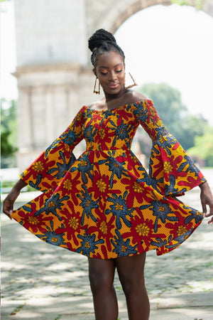 Nobody Like Me  African Smock Dress