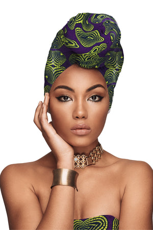 """Crown Me"" African Headwrap Exclusive Offer"