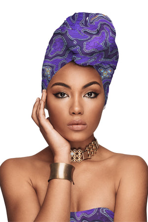 """Crown Me"" African Headwrap"