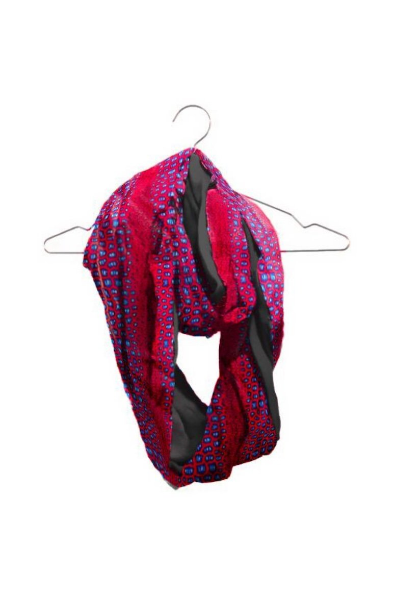 African Infinity Love Scarf (Customize Fabric)