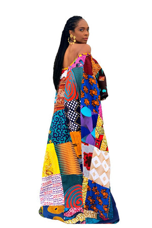 glamorous African fashion designer wax and wonder