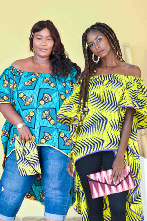Here Comes the Queen African Print Top