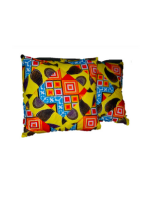 Decorative African Print Pillow Cases