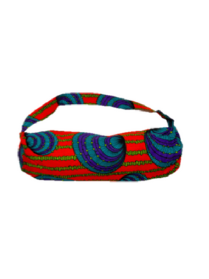 Relax and Release African Print Yoga Bag