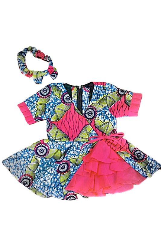 african dresses african print kids fashion wax and wonder