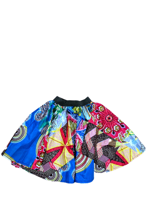 african girl skirt african print kids fashion wax and wonder