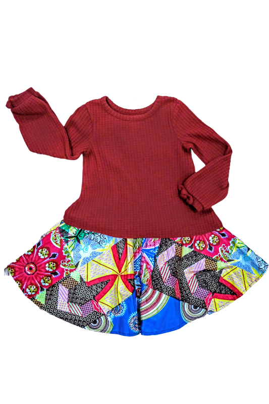 african girl skirts african print kid fashion wax and wonder