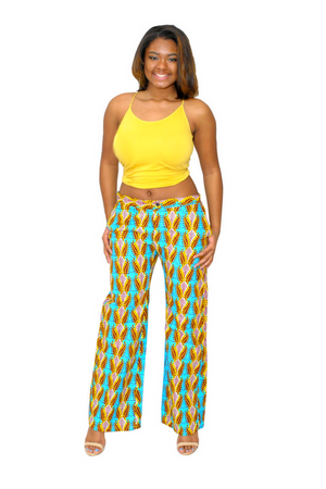 Take Over African Print Pants