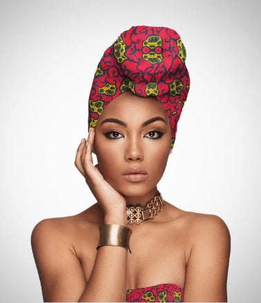 African headwrap by Wax and Wonder