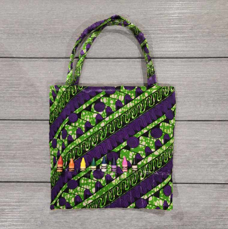 African Fashion Kids Tote Bag