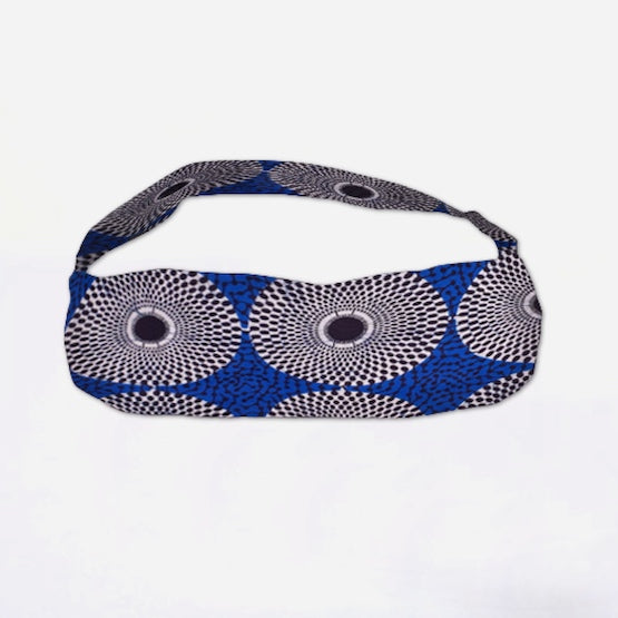 African Yoga Bag Authentic Wax Print