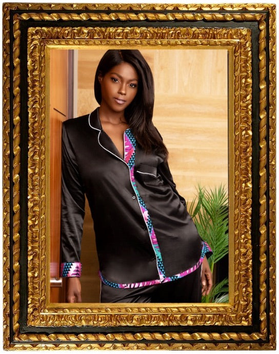 Royal African Robe by Wax and Wonder