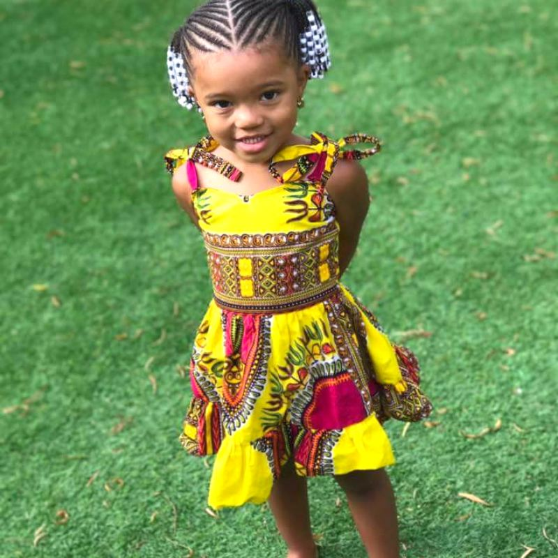 African girl dresses by Wax and Wonder made in Liberia