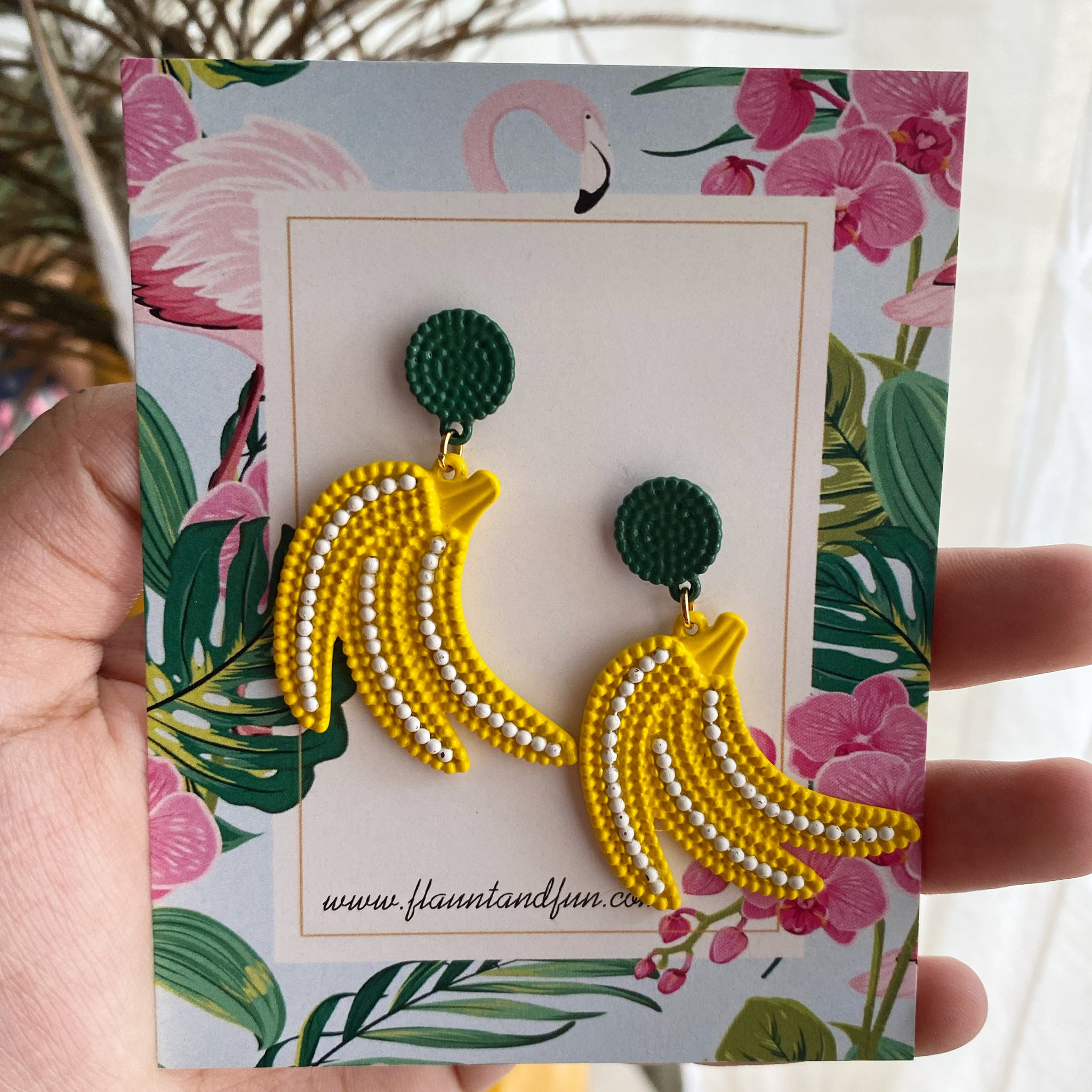 BANANA EARRINGS