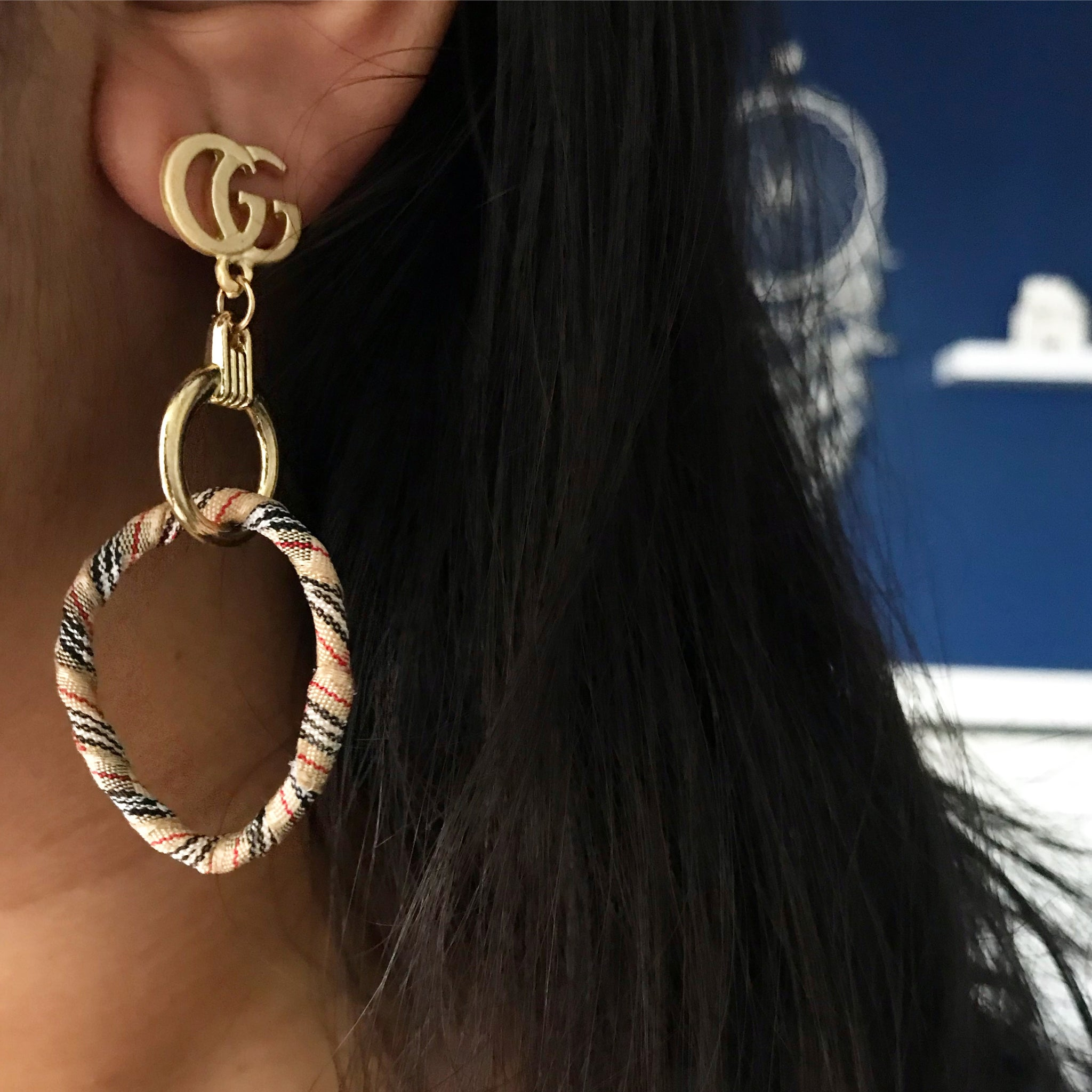 FABRIC KNOT EARRINGS