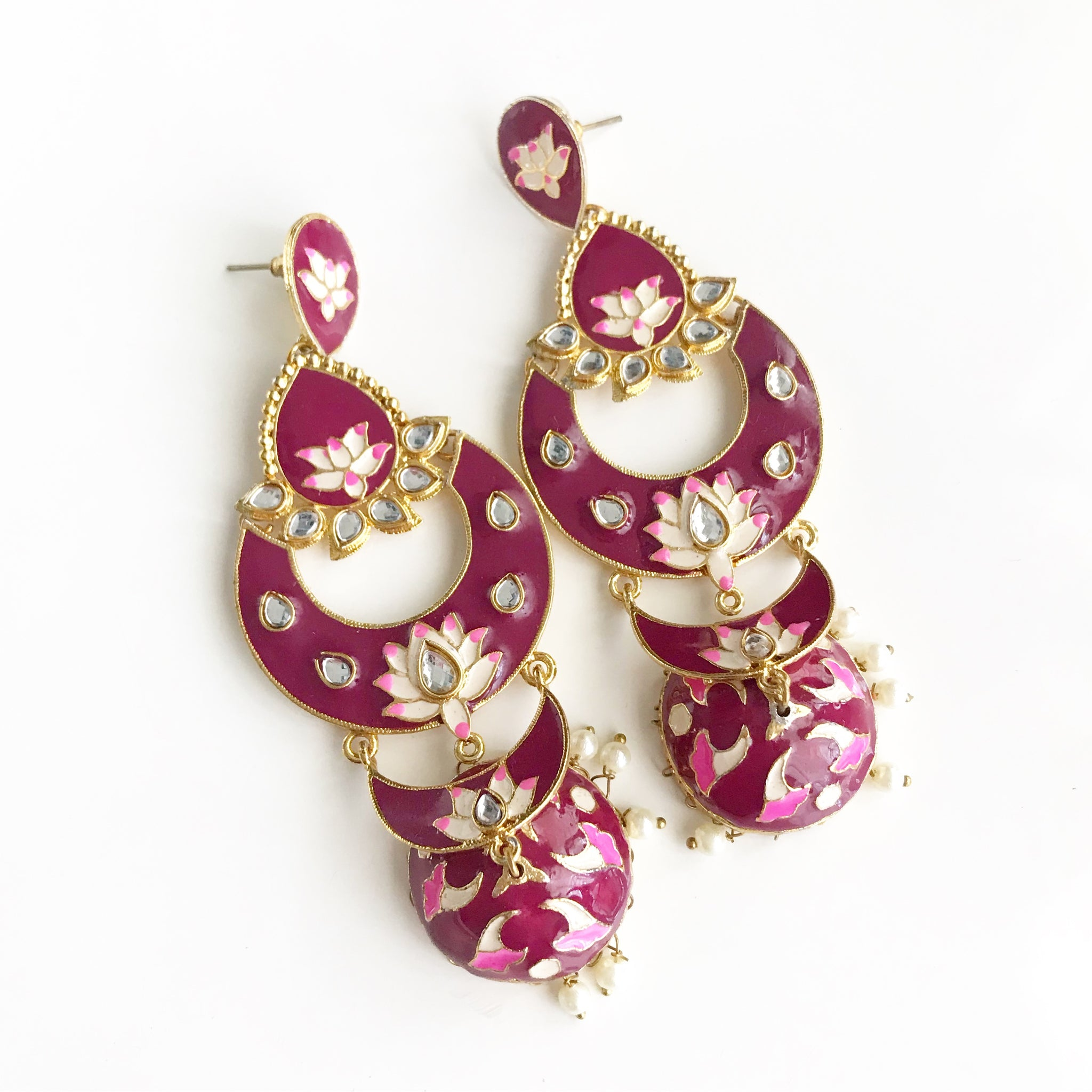 EXTREMELY BIG JHUMKAS