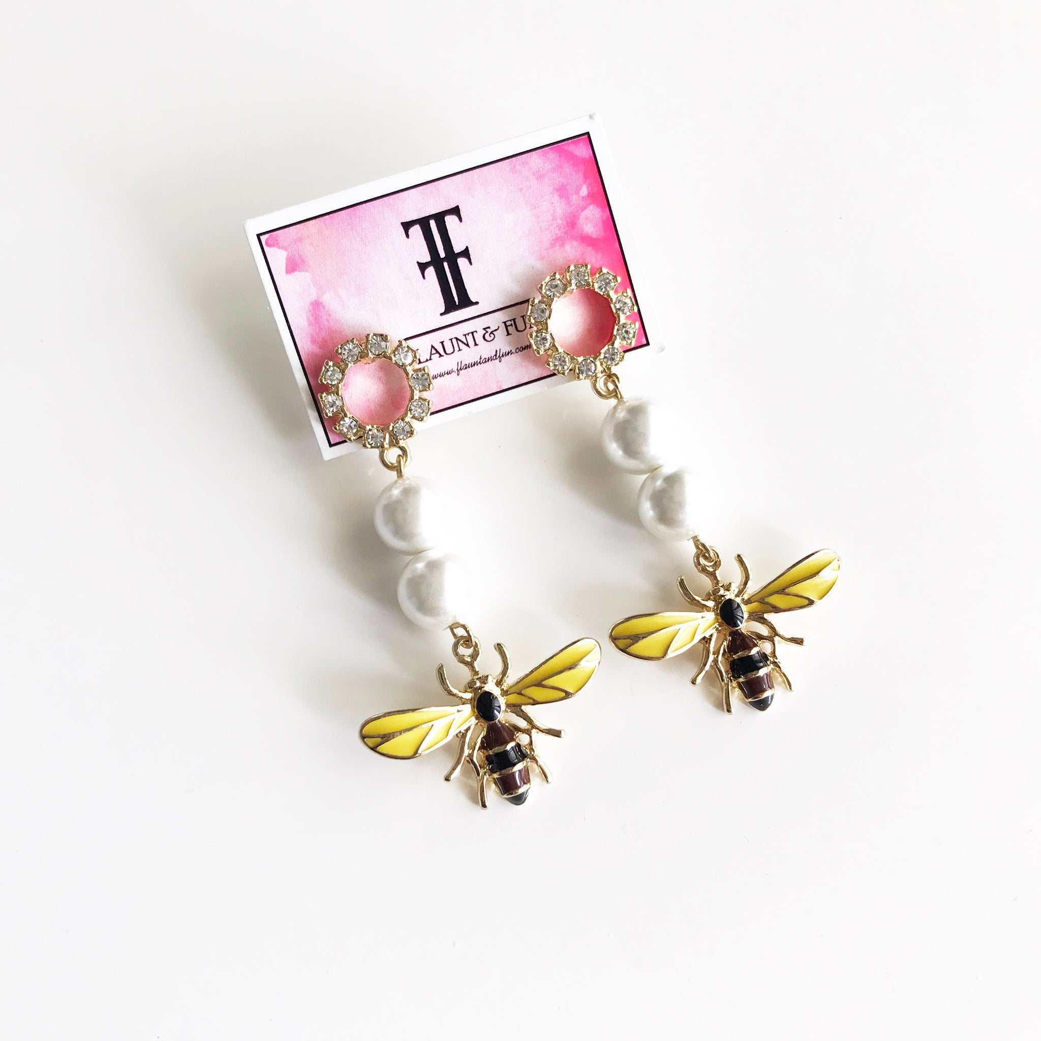 DRAGON FLY STATEMENT EARRINGS