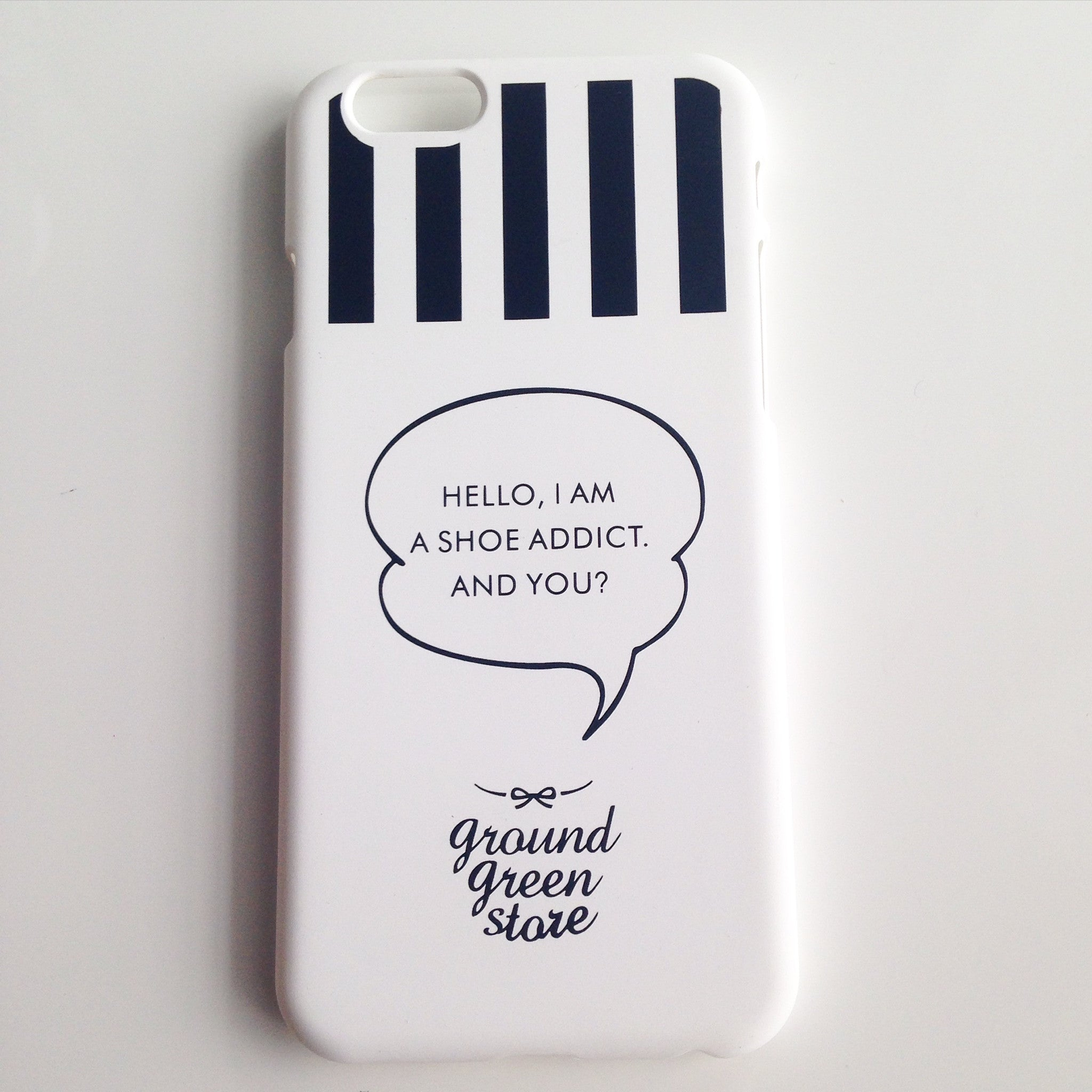 IPHONE 6/6s SHOE ADDICT CASE - Flauntandfun