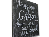 Amazing Grace How Sweet The Sound Christian Wall Decor