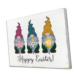 Easter Gnomes Wood Sign