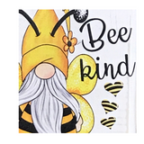 Bumblebee Gnome Bee Wood Box Sign