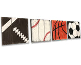 sports themed nursery wall decor