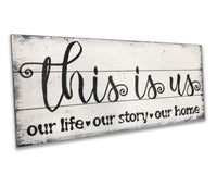 Living Room Decor This Is Us Wood Sign