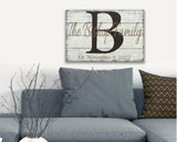 Personalized Name Sign Wall Decor