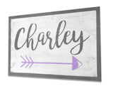 personalized name sign kids room wall decor nursery wall art