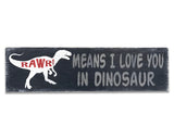 Rawr Means I Love You In Dinosaur Boys Nursery Decor