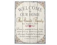 custom wood sign personalized gifts for couples
