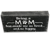 Mom Wood Box Sign Collection
