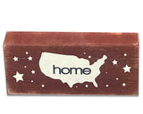 Patriotic and Americana Wood Box Signs