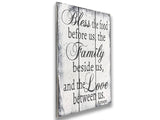 Bless The Food Wood Sign Kitchen Dining Room Decor