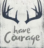 Be Brave Have Courage Explore Kids Room Nursery Wall Decor