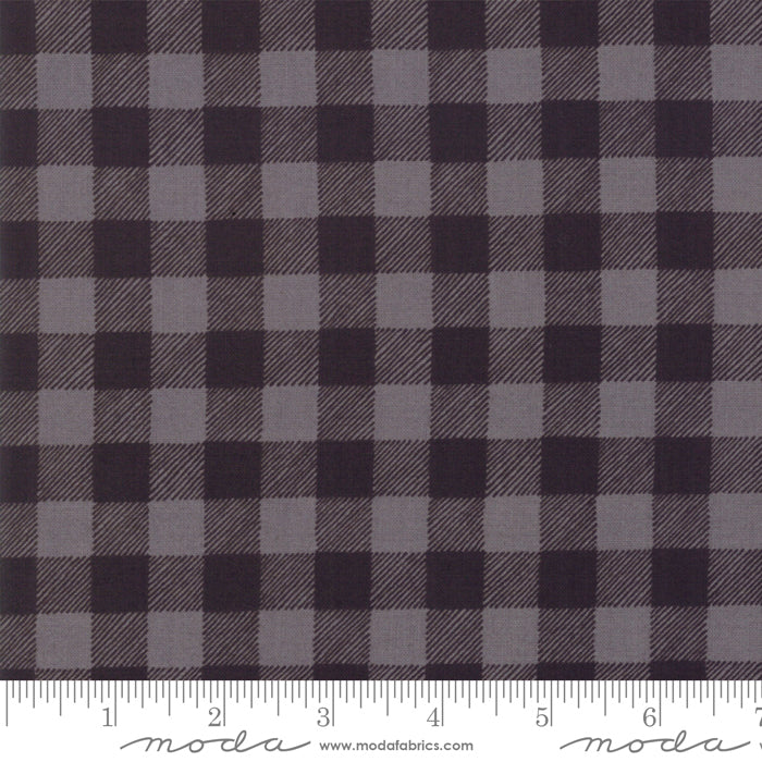Holiday Lodge - Plaid Grey + Charcoal