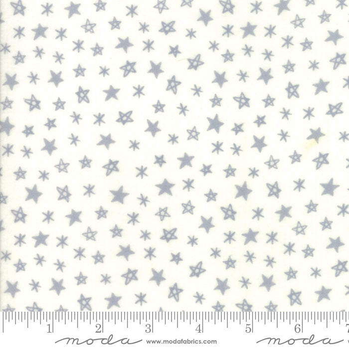Soft & Sweet Flannel - Stars Grey