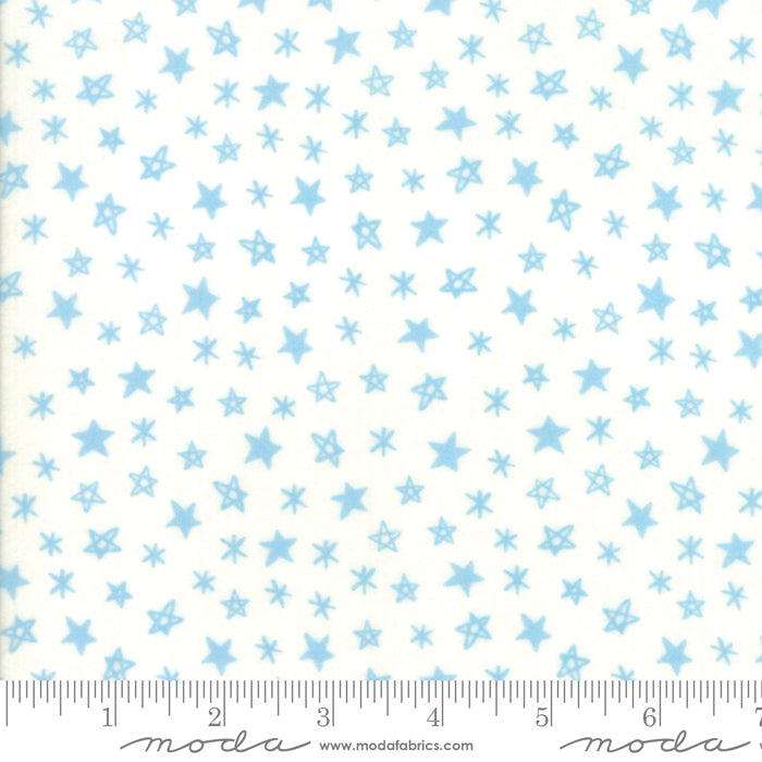 Soft & Sweet Flannel - Stars Cream