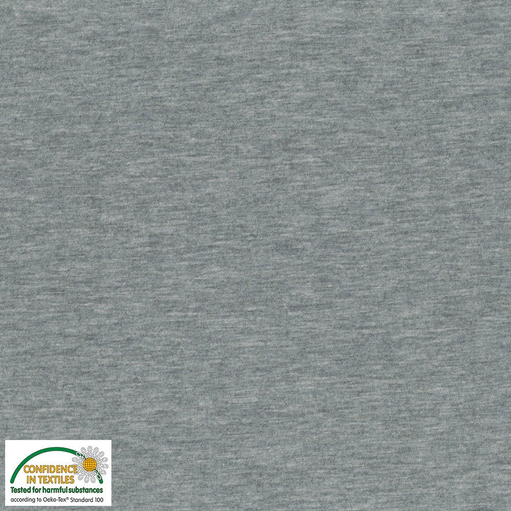 Stof- Melange Grey | Knit
