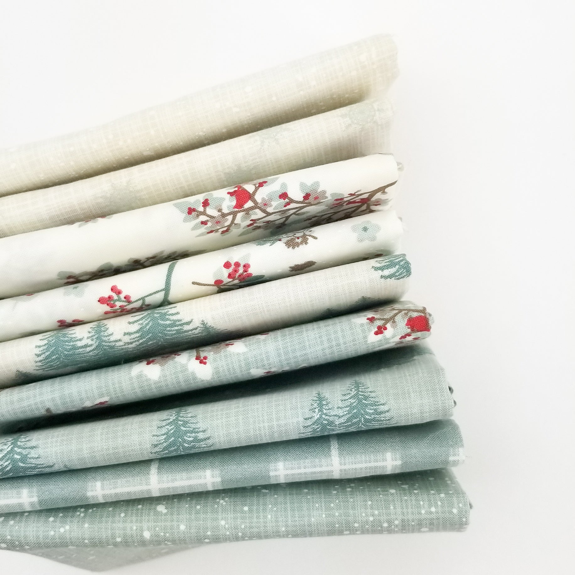 Juniper - In The Snow - Fat Quarter Bundle