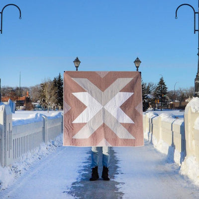 Cross Lake - Rust Quilt Kit