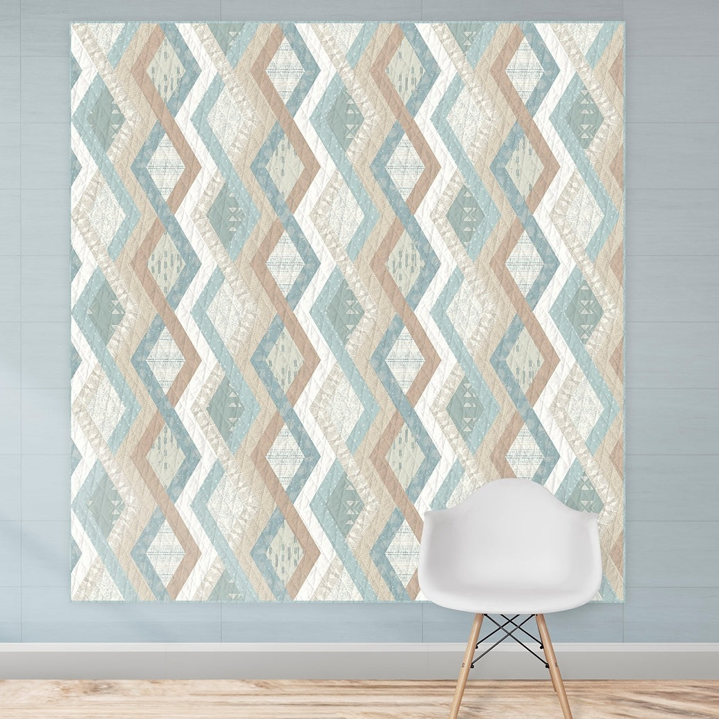 Serenity Fusion - Pacific Quilt Kit